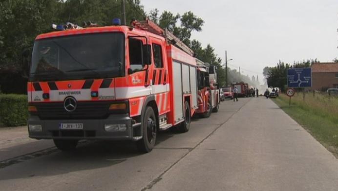 Uitslaande brand in Schriek