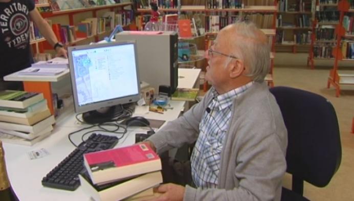 Afscheid van oudste bibliothecaris