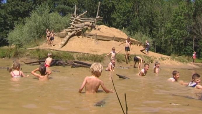 Zon, schaduw én water in Averegten