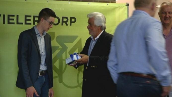 Winnaar Herman Van Springel Diamond gepast gevierd