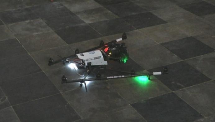 Monumentenwacht experimenteert met drones