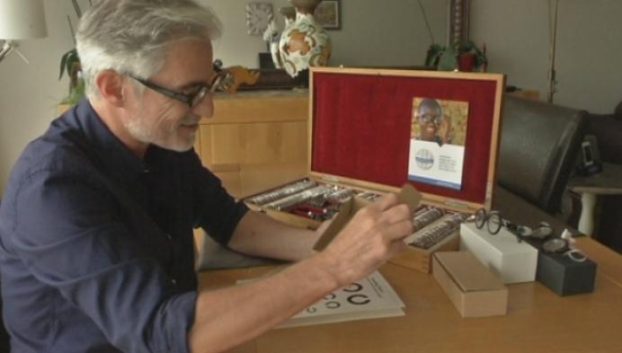 Willebroekenaar ontwerpt unieke zonnebril