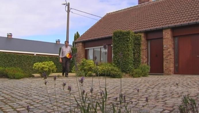 Toch nog Belgische driekleur in straatbeeld