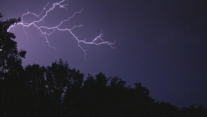 Onweer richt schade aan in de Kempen