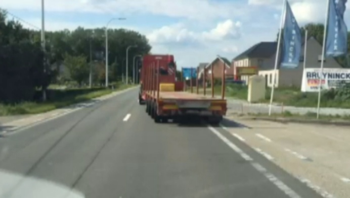 Fietsers in gevaar op Liersesteenweg in Heist-op-den-Berg