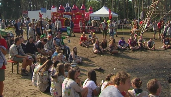 Duizenden scoutsleiders verzamelen in Hoge Rielen