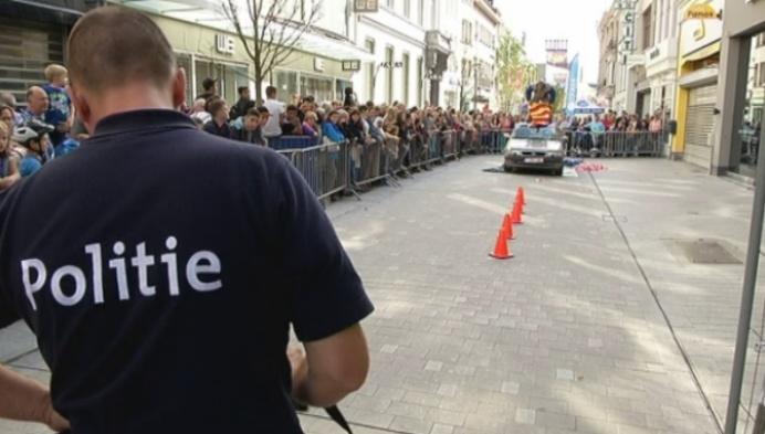 Politie palmt Mechelse binnenstad in