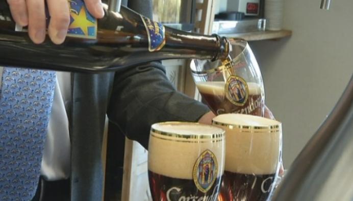 Vice-premier Peeters op bezoek bij brouwerij Corsendonck
