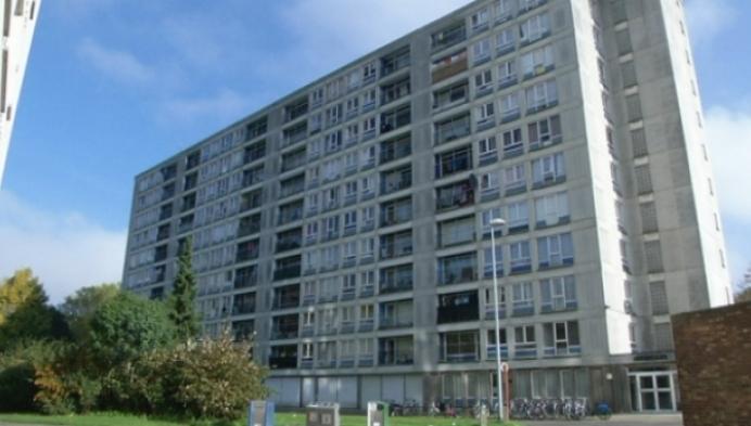 Bewoners appartementsgebouw slachtoffer van vandalisme
