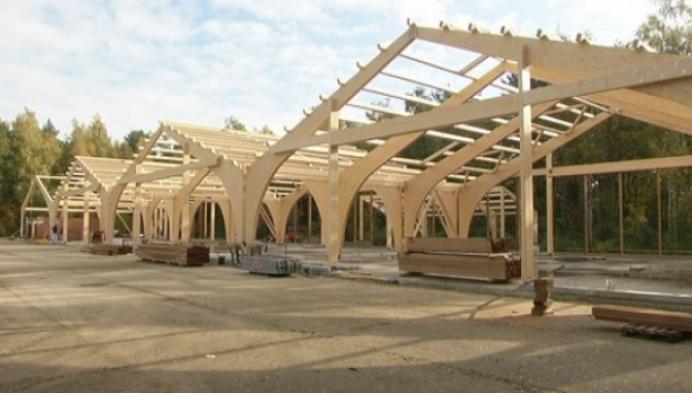 Natuur en Bos bouwt energieneutrale loods in Olen