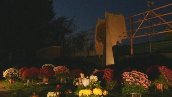 Gedenkboom voor overledenen geplaatst