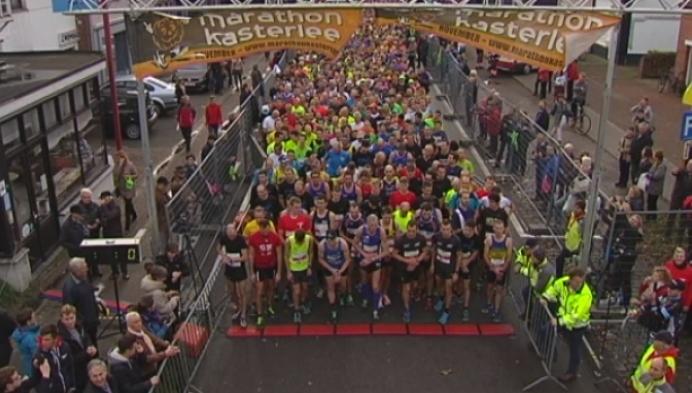 1600 lopers aan de start van marathon in Kasterlee