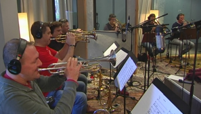 Muzikanten Christiano and his Magical Orchestra nemen album op