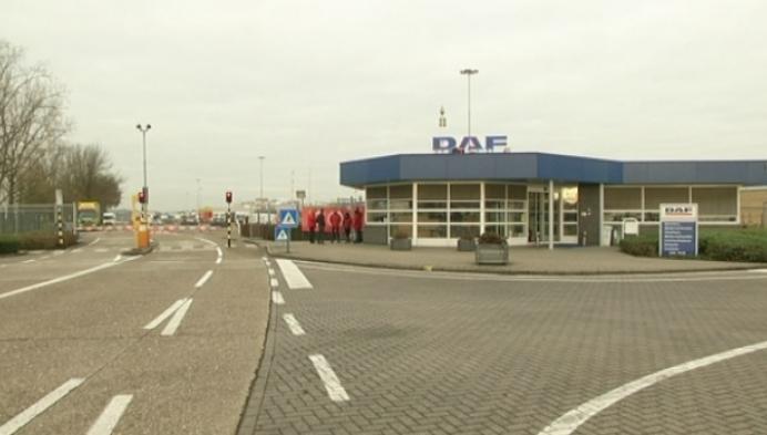 Bijna geen arbeiders bij Daf in Oevel