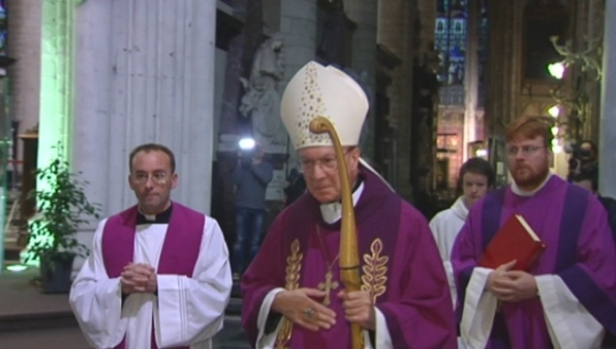 Monseigneur Léonard neemt afscheid van Mechelen