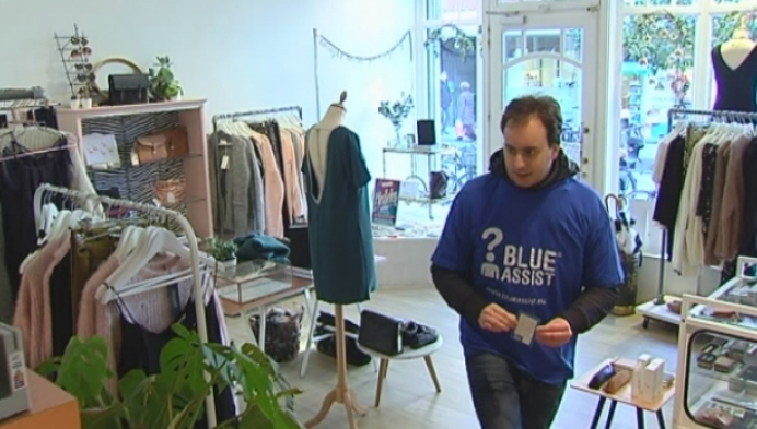 Mechelen promoot Blue Assist-kaartjes voor personen met een beperking