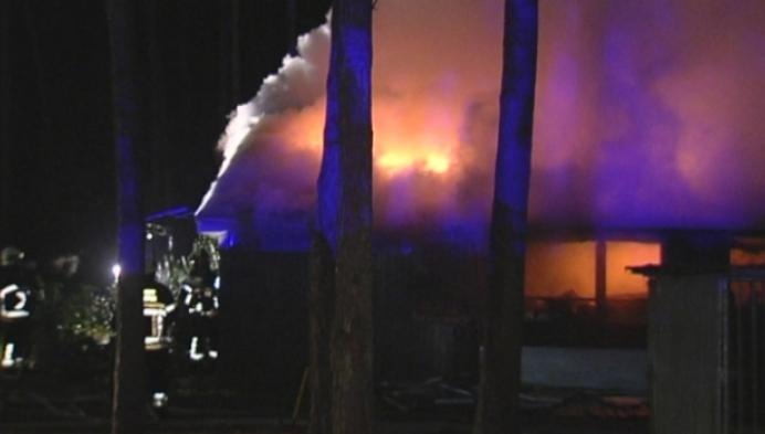 Chaletbrand in Vorselaar eist een dode