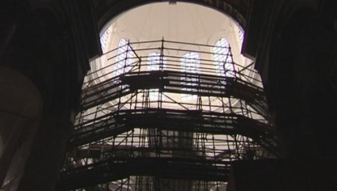 Hanswijktroon tijdelijk verplaatst voor restauratie