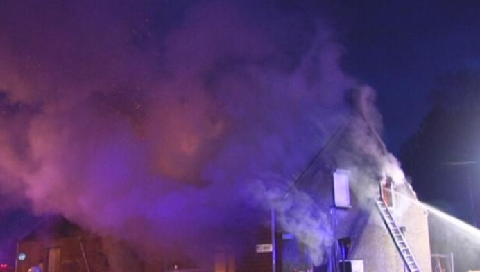 Man omgekomen bij woningbrand in Westerlo