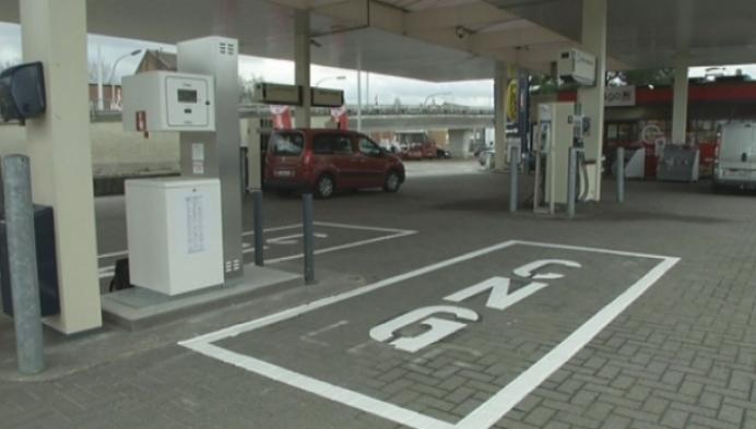 Eerste CNG-tankstation geopend in Mechelen