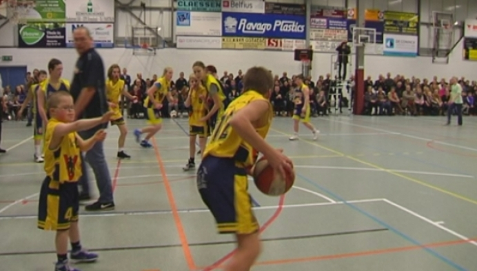 G-basketbal in Arendonk lokt massa volk