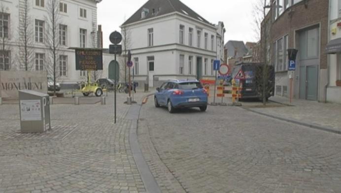 Centrum van Mechelen is grote bouwwerf