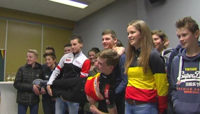 Belgische kampioenen veldrijden gehuldigd in Herentals