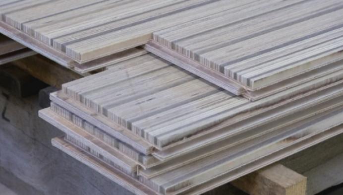Nobel flooring uit Minderhout maakt parket van houtresten