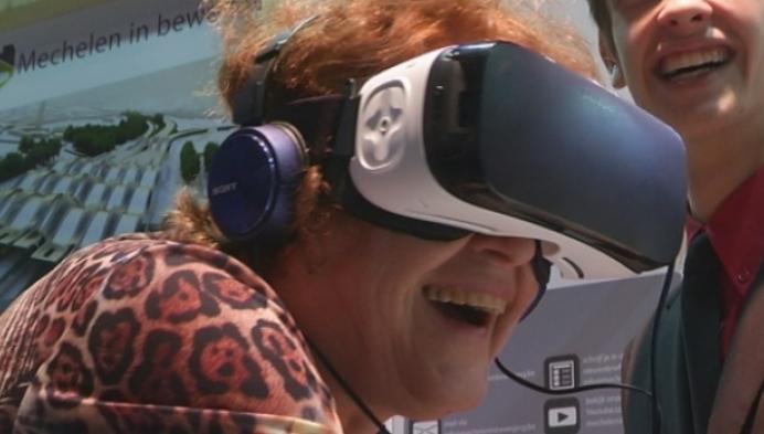 Bangelijk zicht vanop Sint-Romboutstoren met 3D-bril