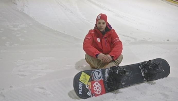 Snowboarder Stef Vandeweyer uit Geel mag naar de Olympische Spelen voor de jeugd