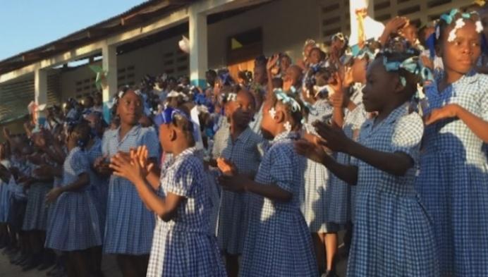 Cunina terug van eerste inleefreis naar Haïti