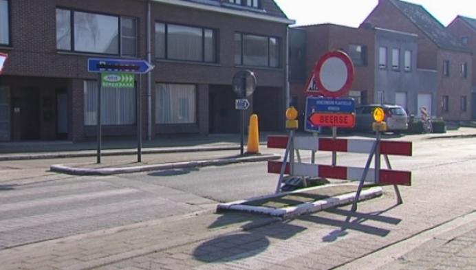 Lang aanschuiven in Merksplas tijdens wegenwerken