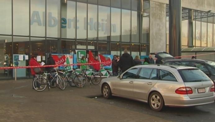 Personeel Albert Heijn Turnhout staakt