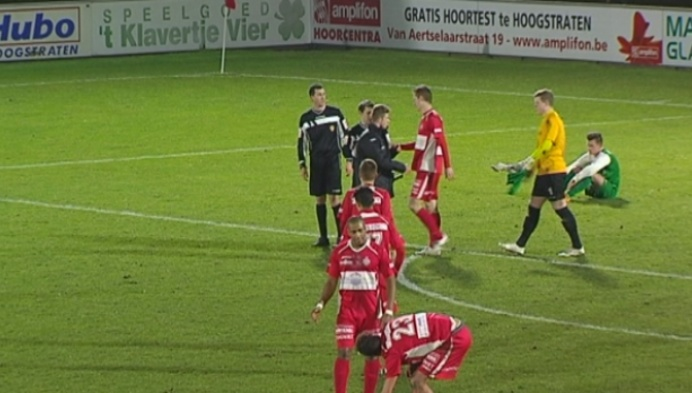 Hoogstraten wint de cruciale 6-puntenmatch tegen Diegem
