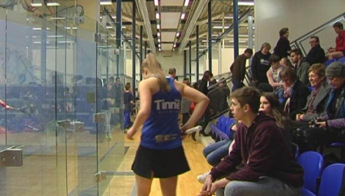 Tinne Gilis Belgisch kampioene squash
