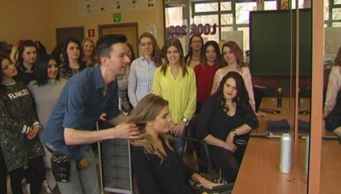 Leerlingen worden ondergedompeld in showbizz-wereld