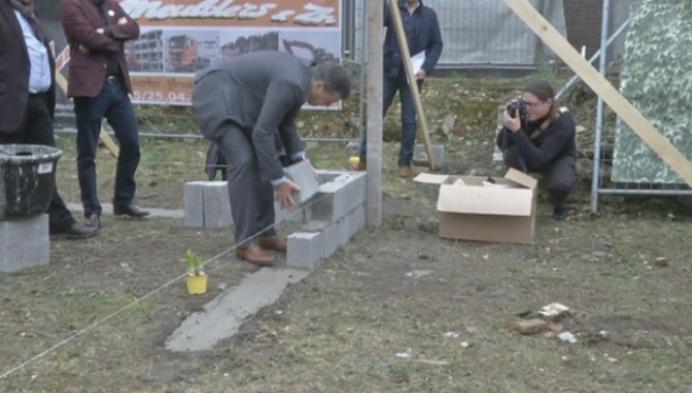 Mechelse Nona bouwt aan toekomst met eerste steen