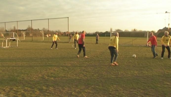 Wandelvoetbal nieuwe trend bij senioren
