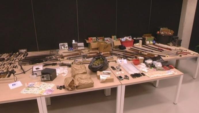 Indrukwekkende buit bij 6 huiszoekingen door politie Zuiderkempen