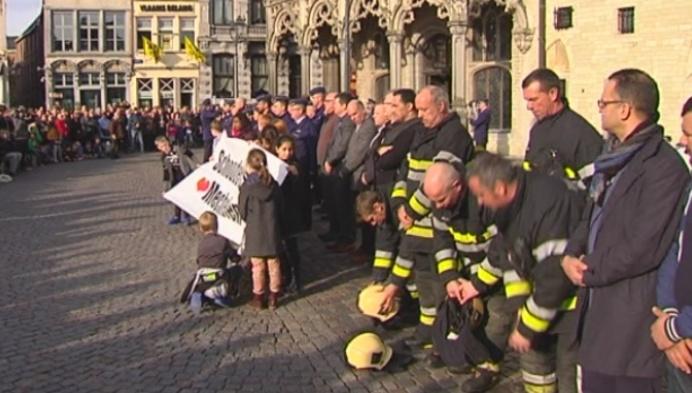 Ook Mechelen rouwt na de terreur in Brussel