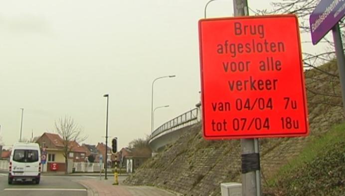 Battelbrug Mechelen vier dagen dicht voor werken