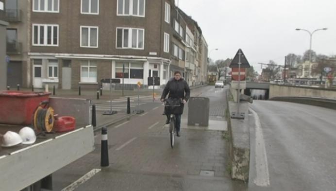 Werken nieuw fietspad Antwerpsesteenweg gestart