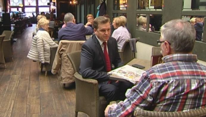 Paul Van Miert trekt de N-VA lijst in Turnhout
