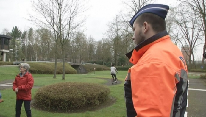 Herentalse vluchtelingen krijgen verkeersles