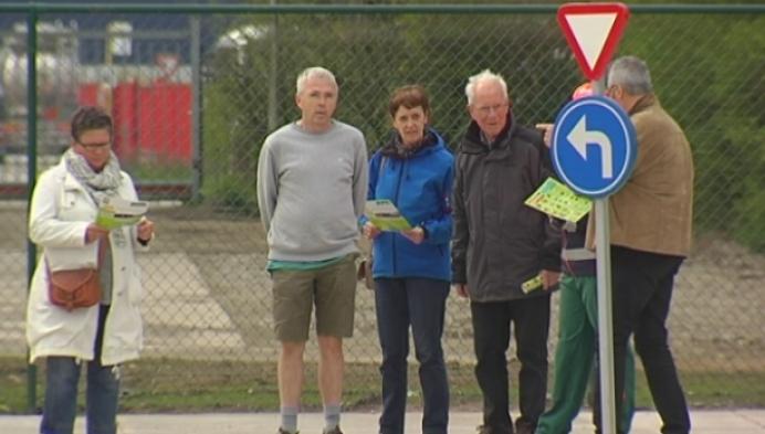 Turnhoutenaren op verkenning in nieuw containerpark