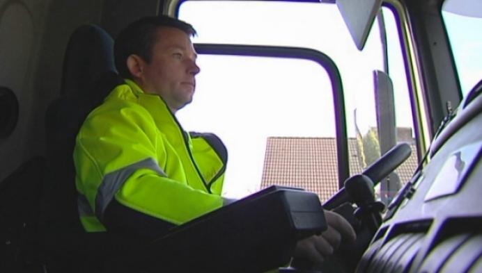IVAREM test inzamelwagen met grijptang in Koningshooikt
