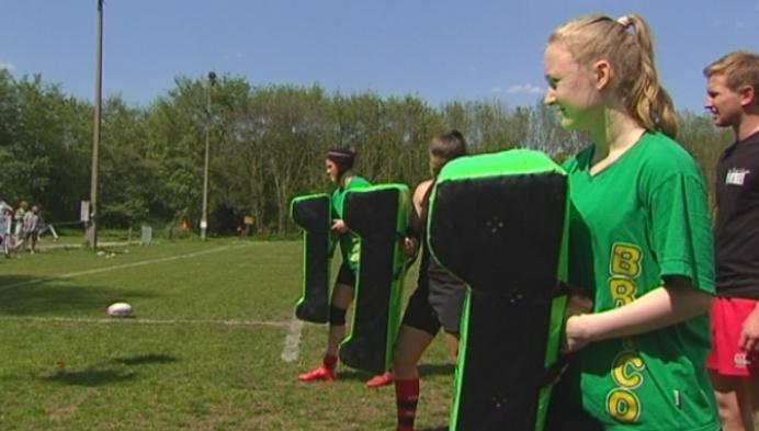 Dames Rugby Mechelen kampioen