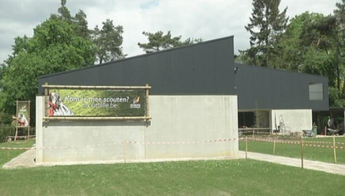 Nieuw scoutslokaal extra beveiligd tegen inbraken