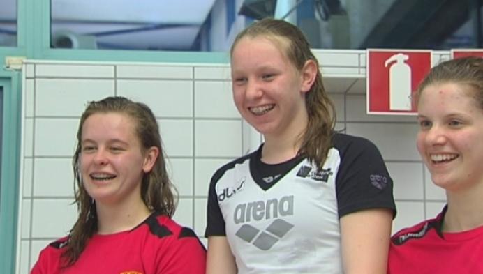 Belgische zwemtalenten draaien warm in Herentals