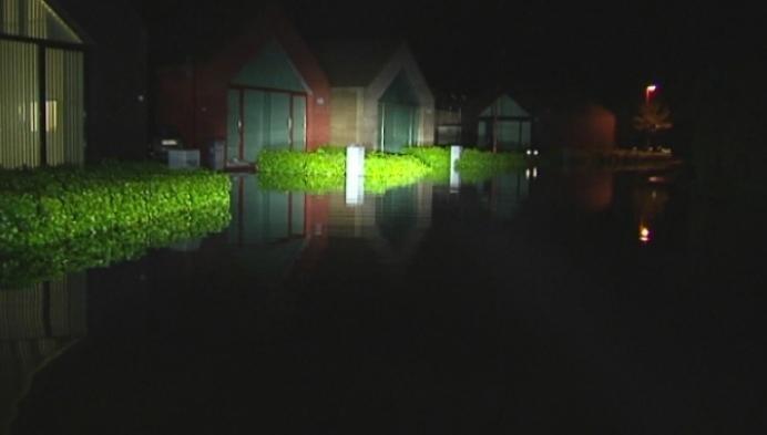 Ook gisteravond al wateroverlast in de Kempen
